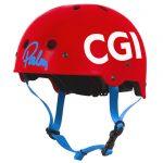 Helmet sponsored by CGI