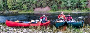 River Spey by canoe